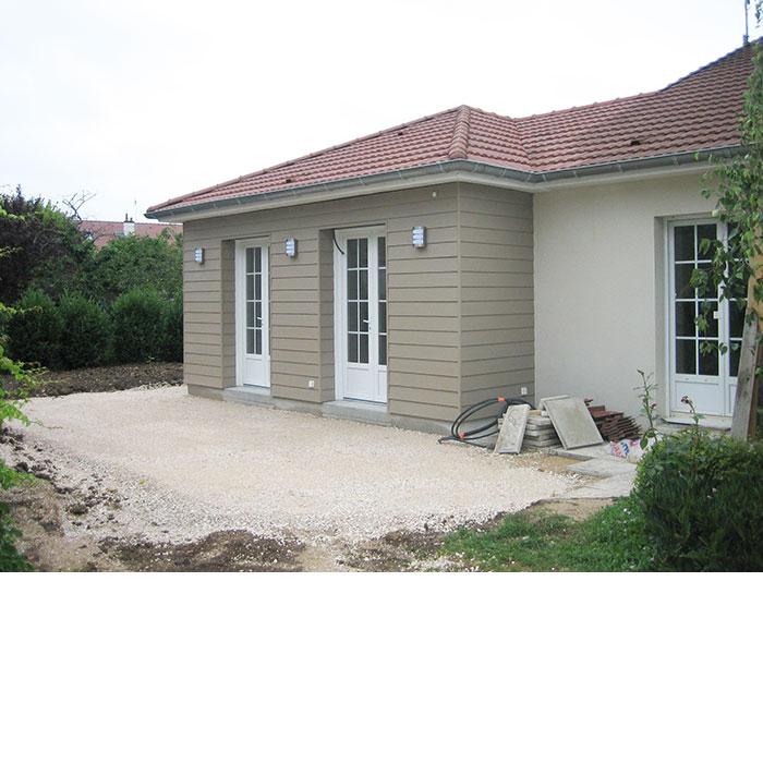 ESPRIT CONSTRUCTIF extension d'habitation à Nuits-Saint-Georges